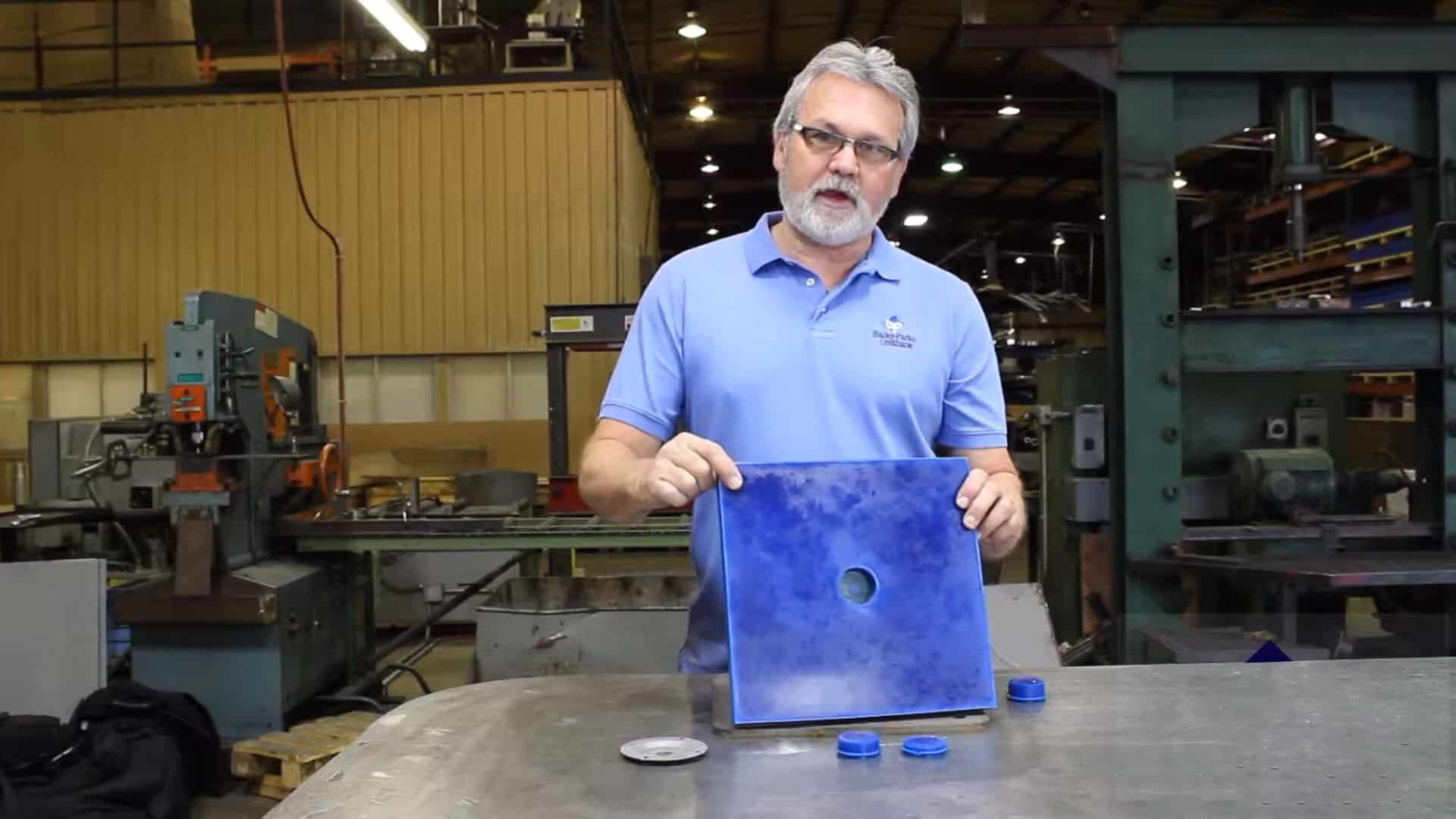 Bailey Parks Urethane Fastening Sys. Weld Washers & Plugs 1-10 screenshot