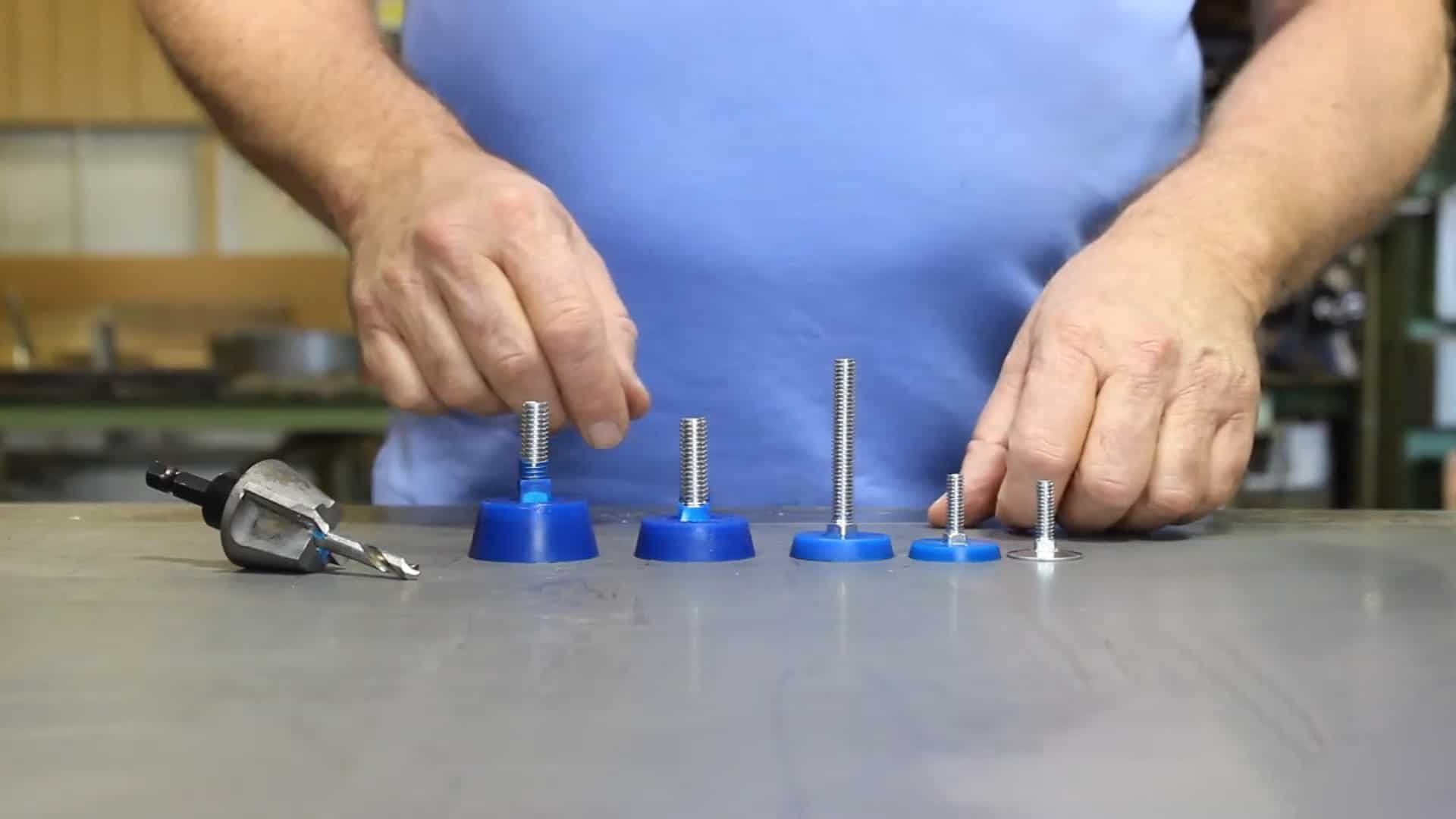 Urethane Wedgie Bolt Fastening System 1-36 screenshot
